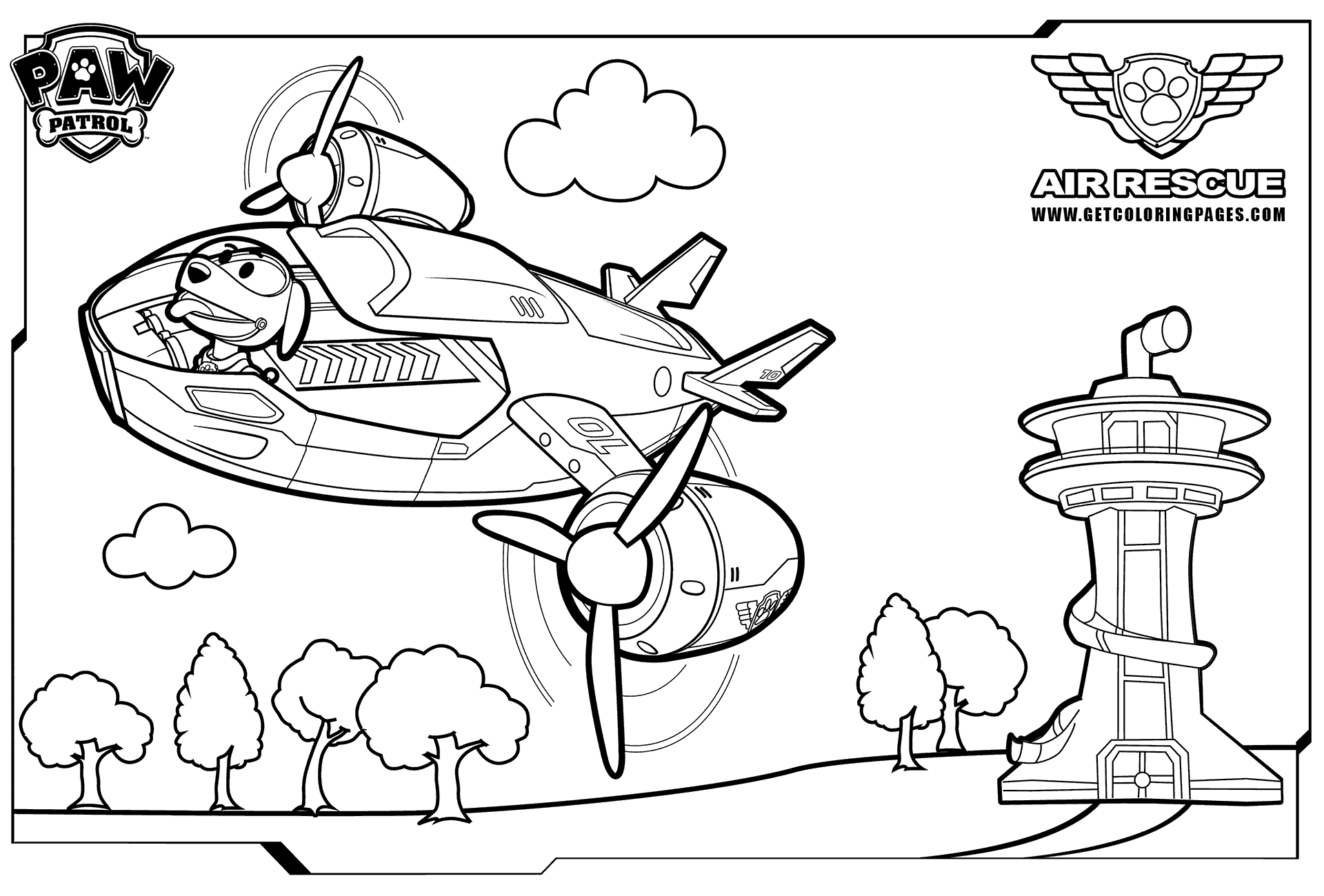 27 Paw Patrol Printable Coloring Pages Selection Free