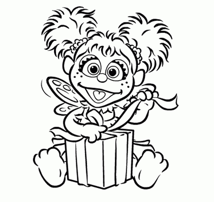 paw print coloring page - abby cadabby coloring page