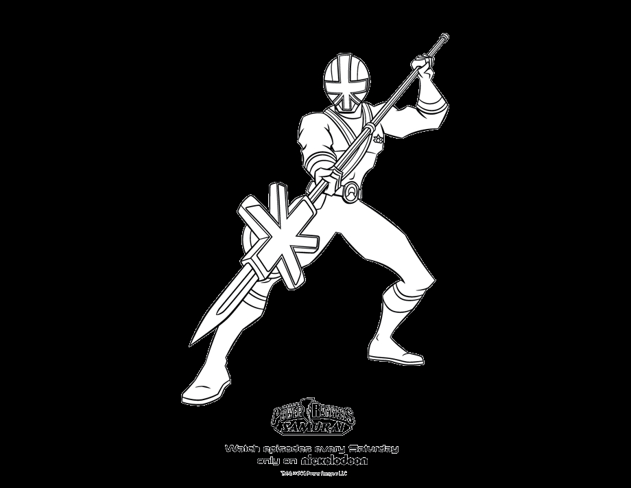 paw print coloring page - power rangers coloring pictures