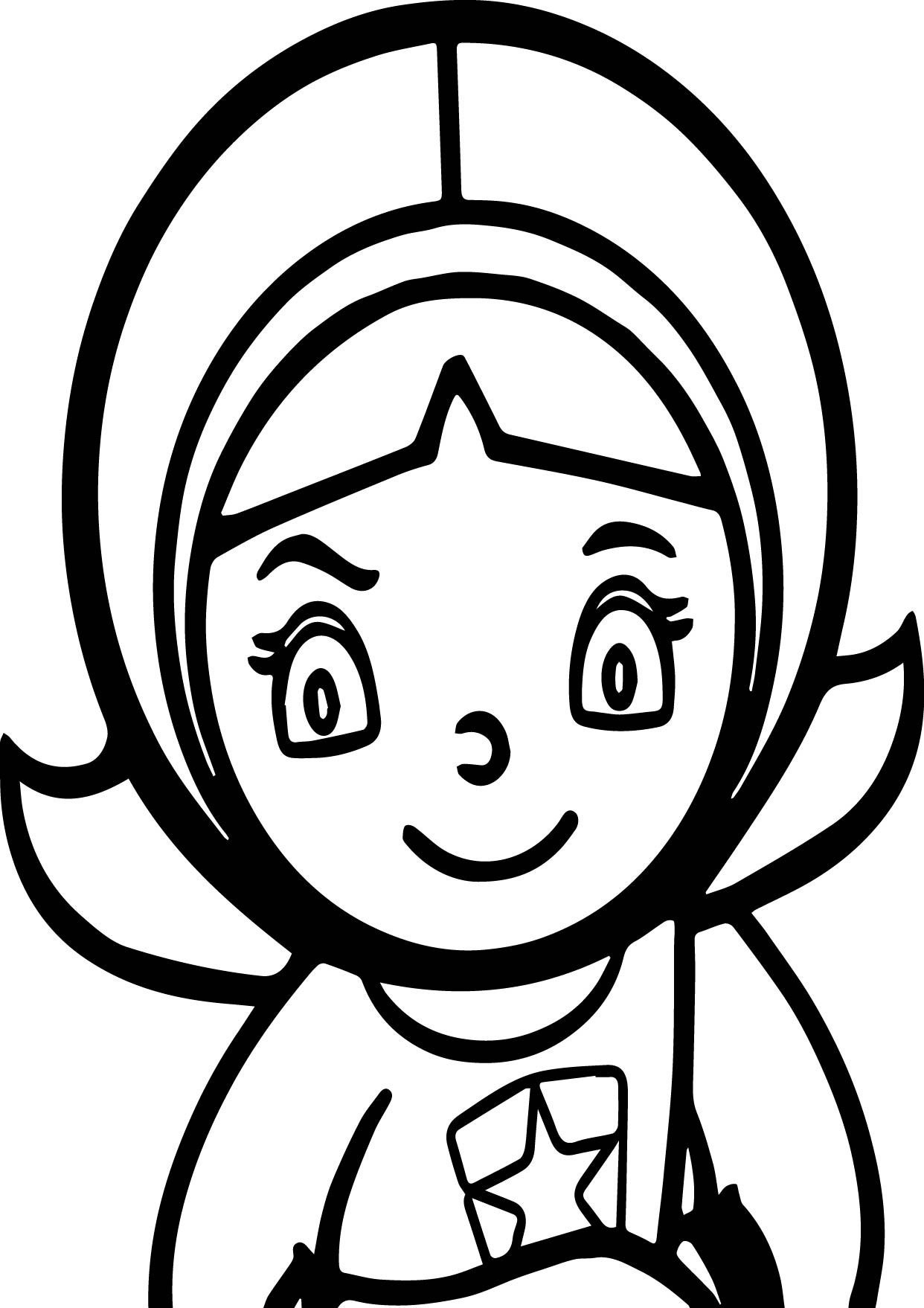 pbs coloring pages - word girl pbs kids coloring page