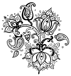 peace coloring pages - free printable coloring pages of flowers