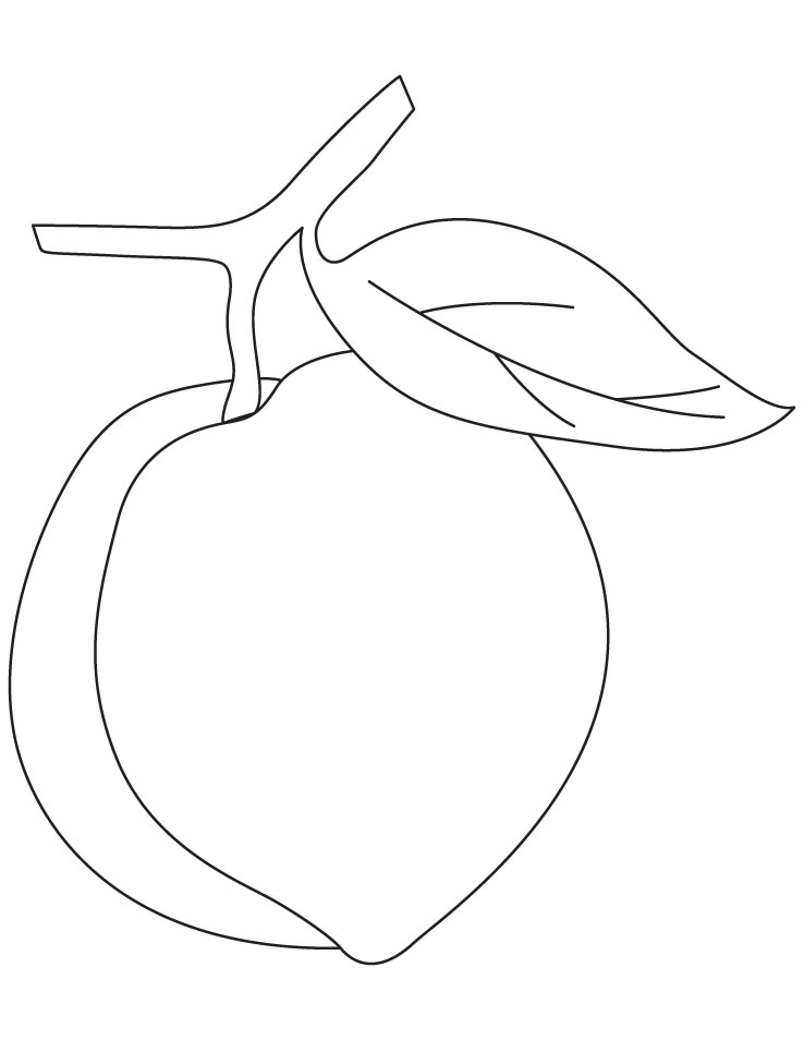 peach coloring pages - peach fruit coloring pages 1d3019