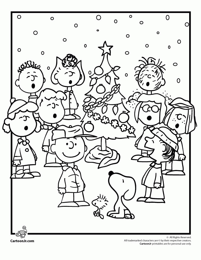 peanuts coloring pages - peanuts coloring page