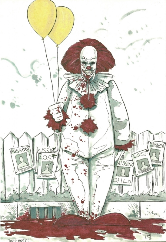 pennywise coloring pages - gallerypiece piece= &gsub=