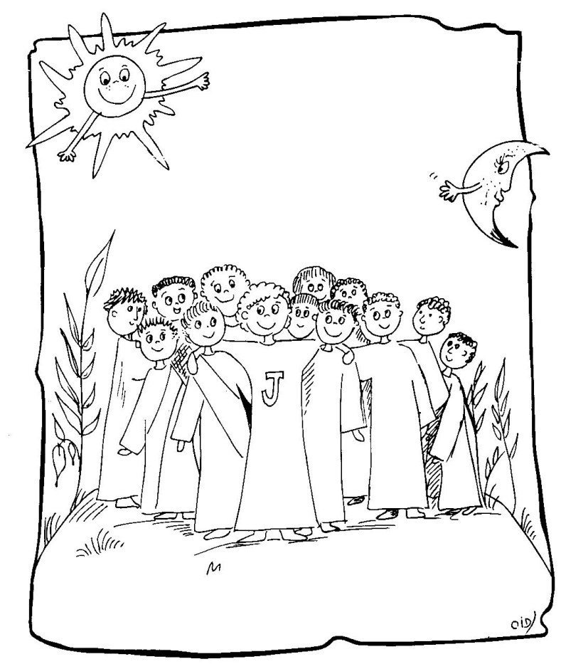 pentecost coloring page - twelve apostles coloring page twelve apostles of jesus 3
