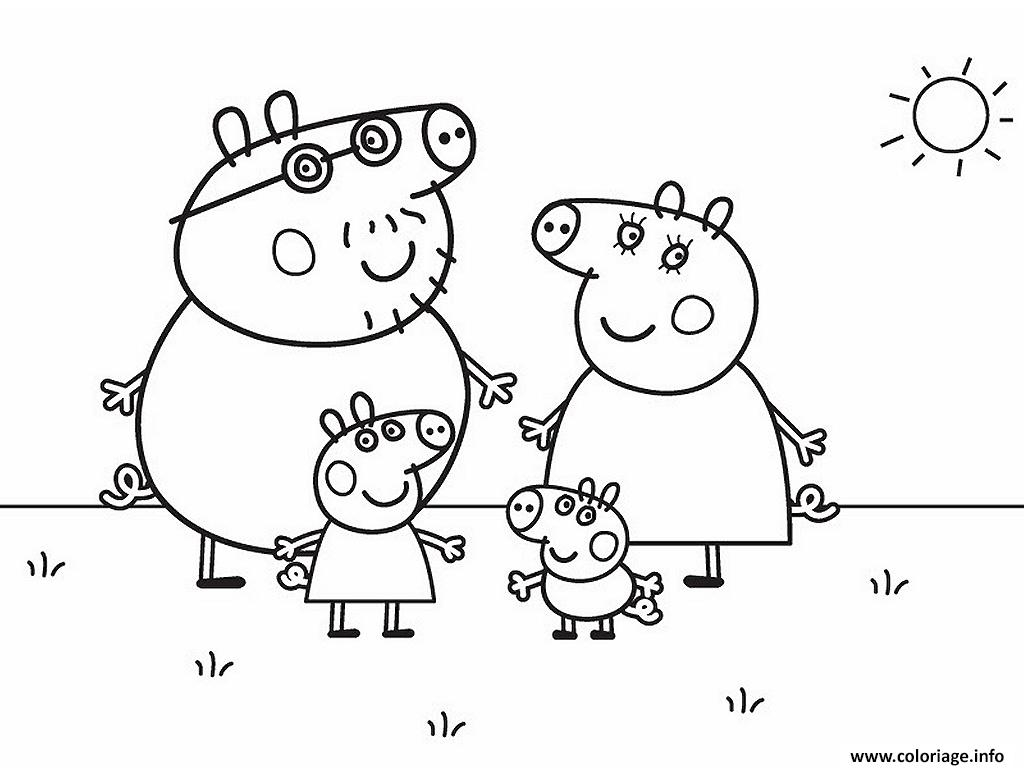peppa coloring pages - peppa pig 274 coloriage