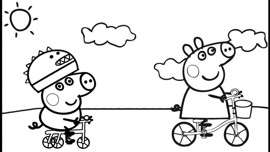 peppa coloring pages - peppa pig coloring pages peppa pig coloring peppa and george play peppa coloring book to print