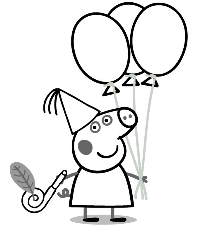 peppa coloring pages -