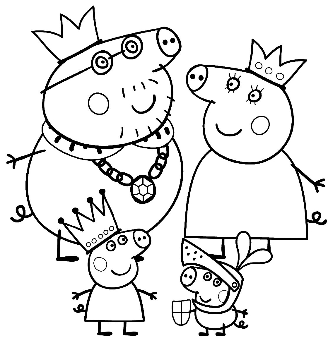 peppa pig coloring pages - q=peppa pig car