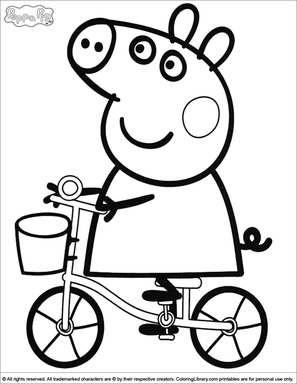 peppa pig coloring pages - q=peppa pig