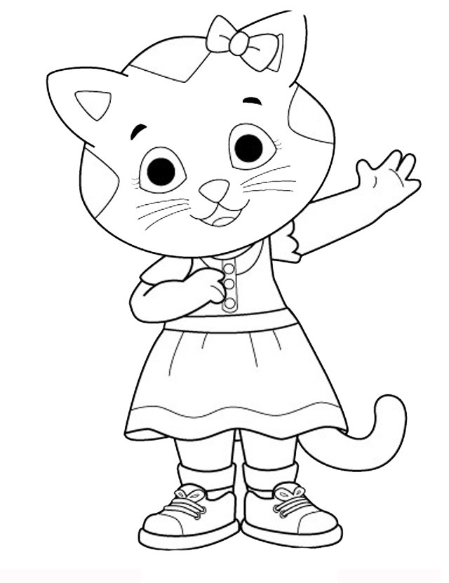 peppa pig printable coloring pages - disegni di daniel tiger da stampare gratis