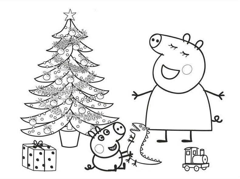 peppa pig printable coloring pages - peppa pig nick jr coloring pages