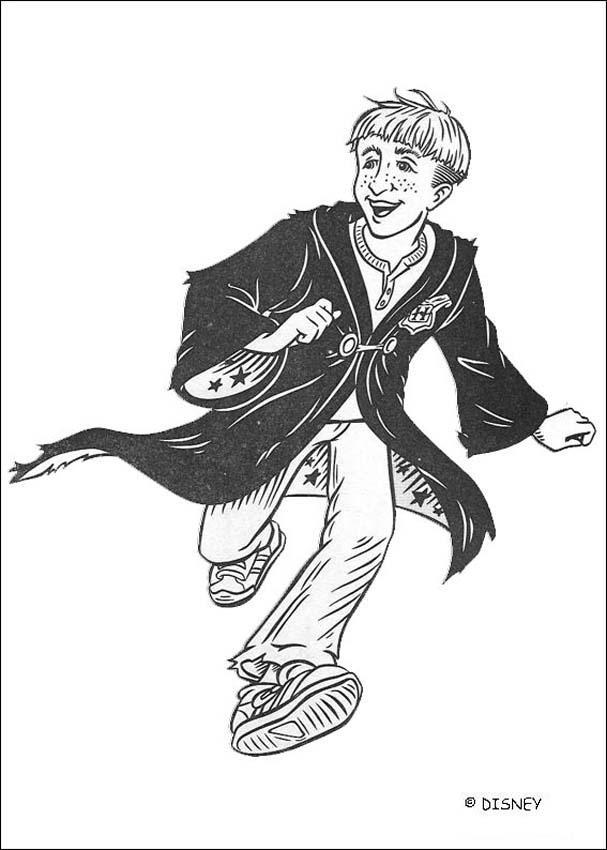 percy jackson coloring pages - draco malfoy