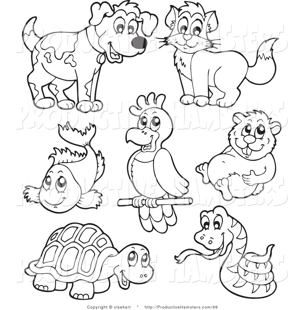 pet coloring pages - coloring pages
