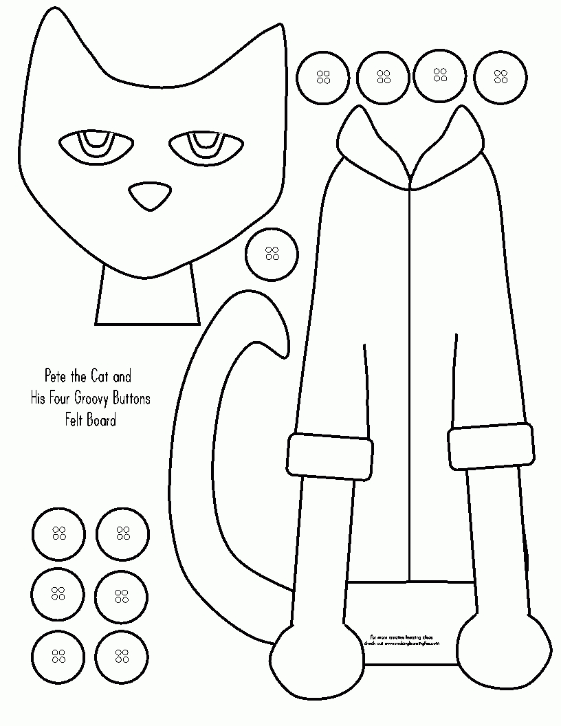 pete the cat coloring page - pete the cat coloring page