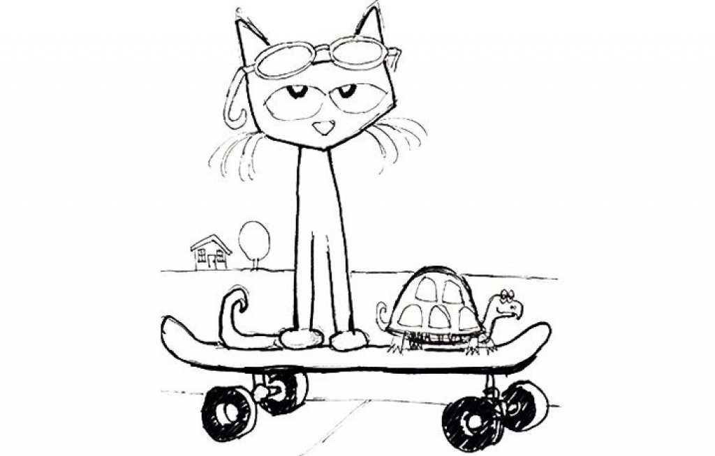 pete the cat coloring page - pete the cat printables