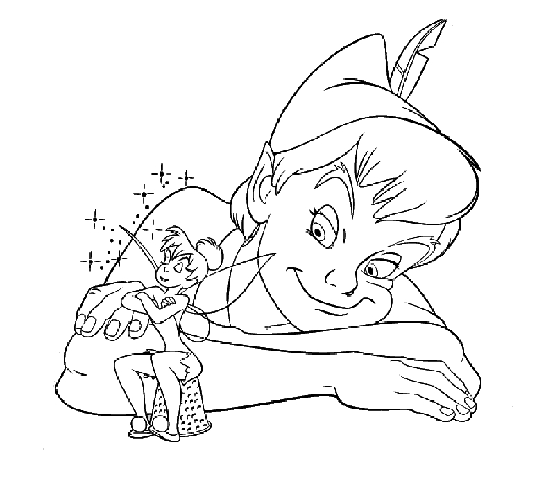 peter pan coloring pages - peter pan coloring pages