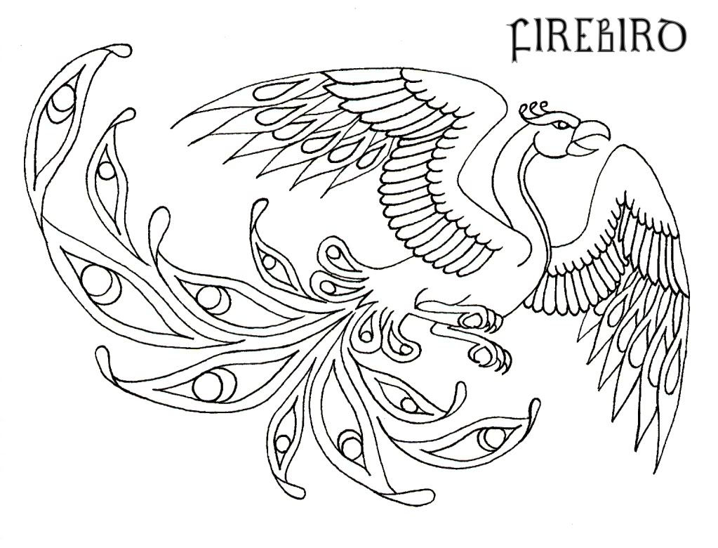21 Phoenix Coloring Page Compilation | FREE COLORING PAGES - Part 3