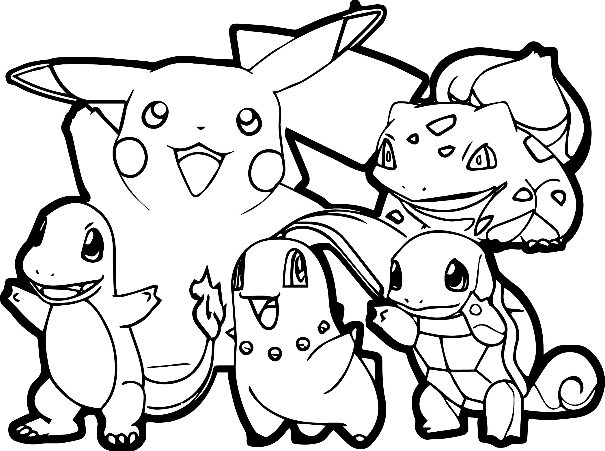 photo to coloring page - all pokemon coloring pages