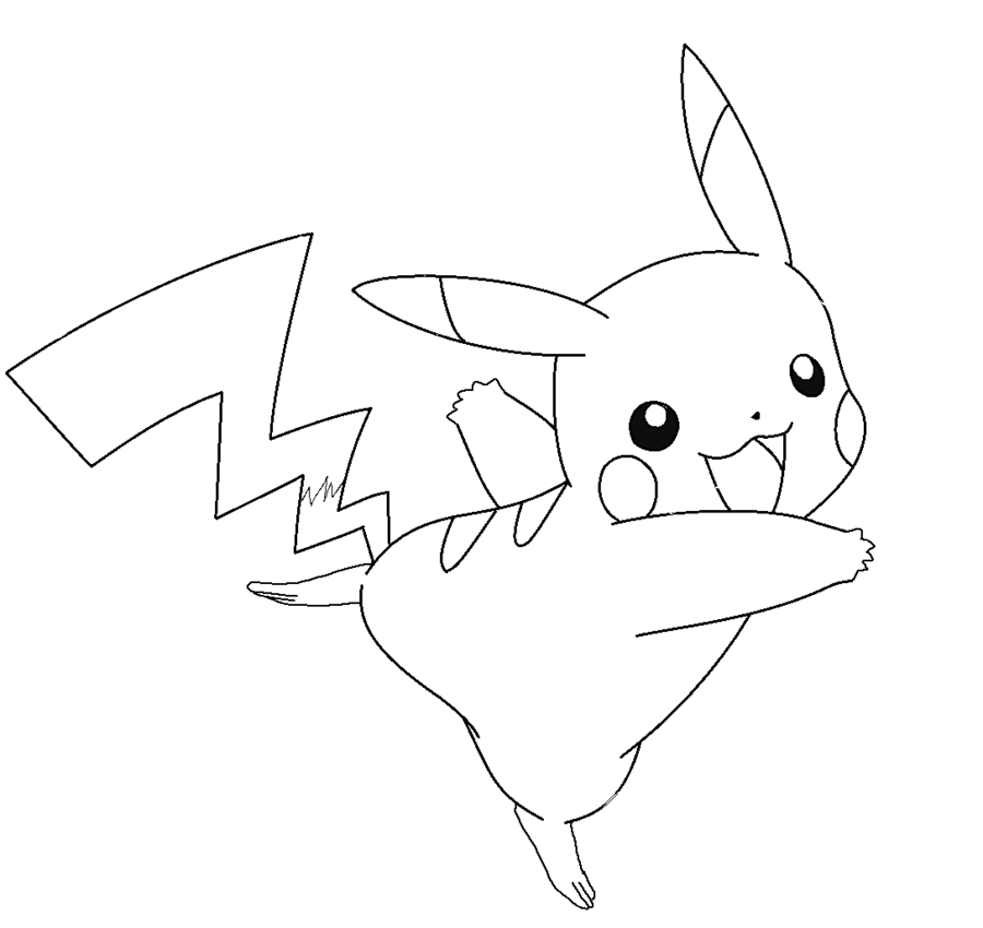 23 Pichu Coloring Pages Selection Free Coloring Pages