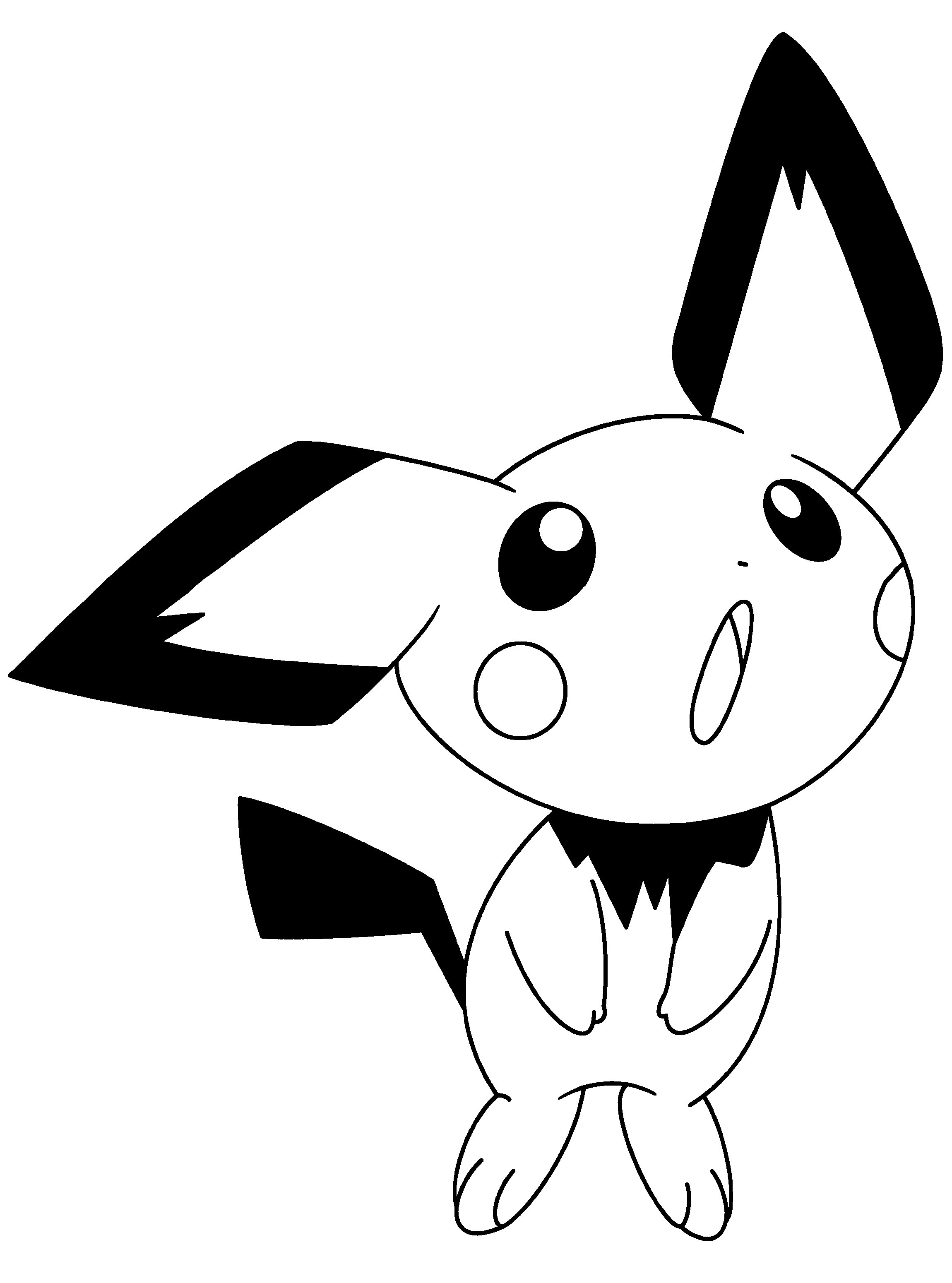 Pokemon Ausmalbilder Pichu : 23 Pichu Coloring Pages Selection Free Coloring Pages