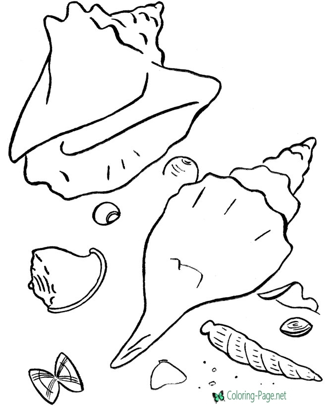 Picture to Coloring Page - Beach Coloring Pages