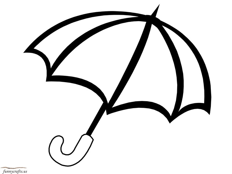 picture to coloring page - rainbow umbrella coloring page