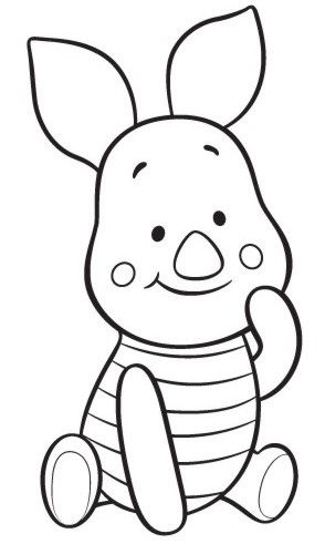 piglet coloring pages -