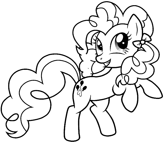 pinkie pie coloring pages - seite 6