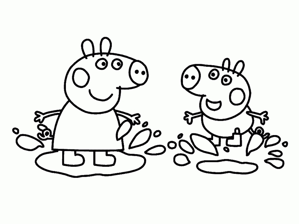 Pinocchio Coloring Pages - Peppa Wutz