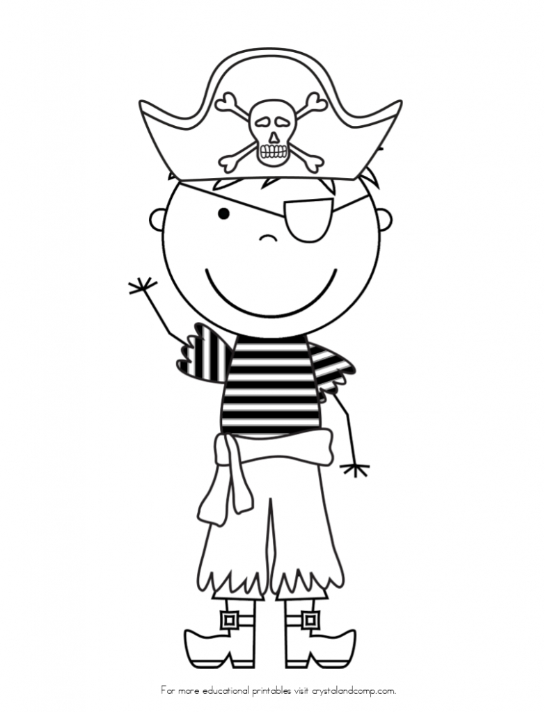 pirate ship coloring page - kid color pages pirates