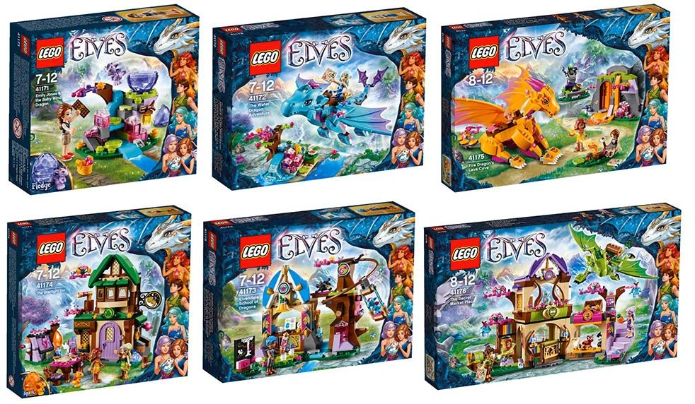 pirate ship coloring page - lego elves 2016 official pictures