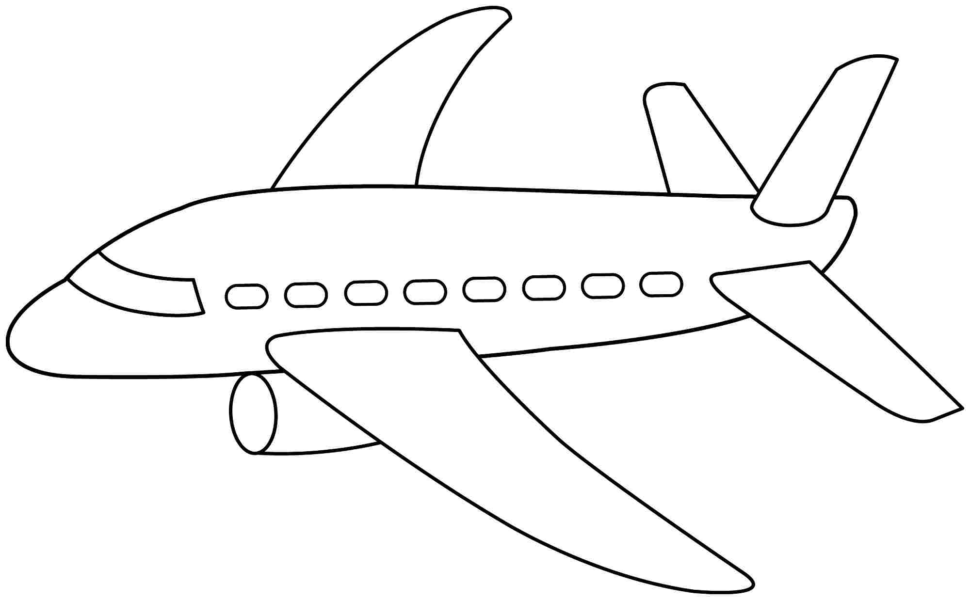 plane coloring pages - planes coloring pages