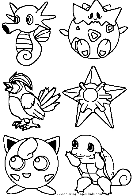 pokemon characters coloring pages - coloring pages of pokemon characters sketch templates