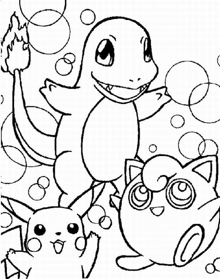 pokemon characters coloring pages - pokemon characters coloring pages