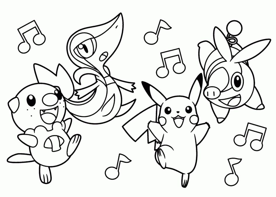 20 pokemon coloring pages eevee evolutions collections for Eevee coloring pages to print