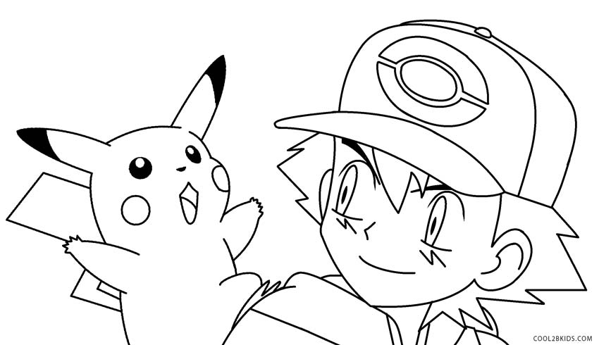 pokemon coloring pages pikachu - pikachu coloring pages