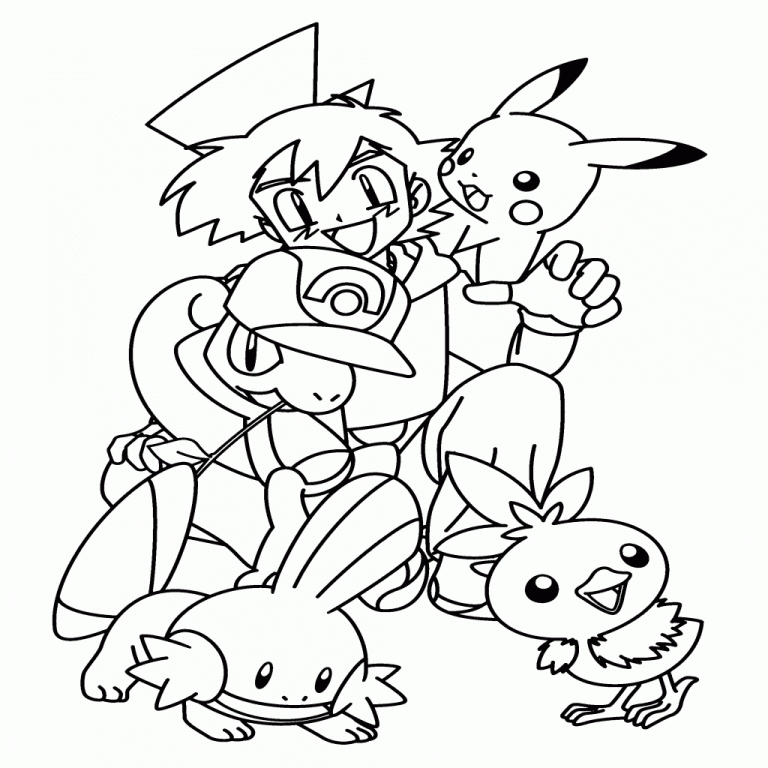 Pokémon Coloring Pages - â Coloring Pages Pok Mon Animated S