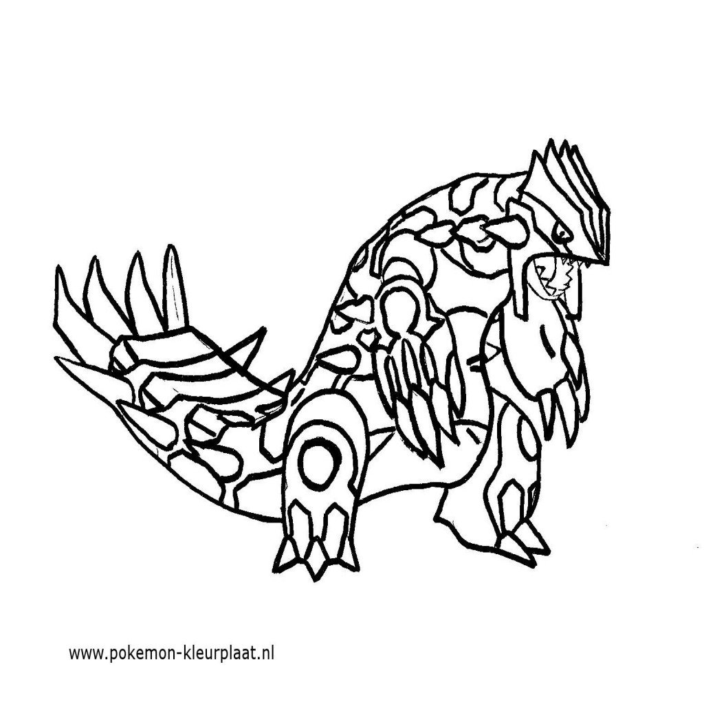 Pokémon Coloring Pages - Kleurplaat Pokemon Ex