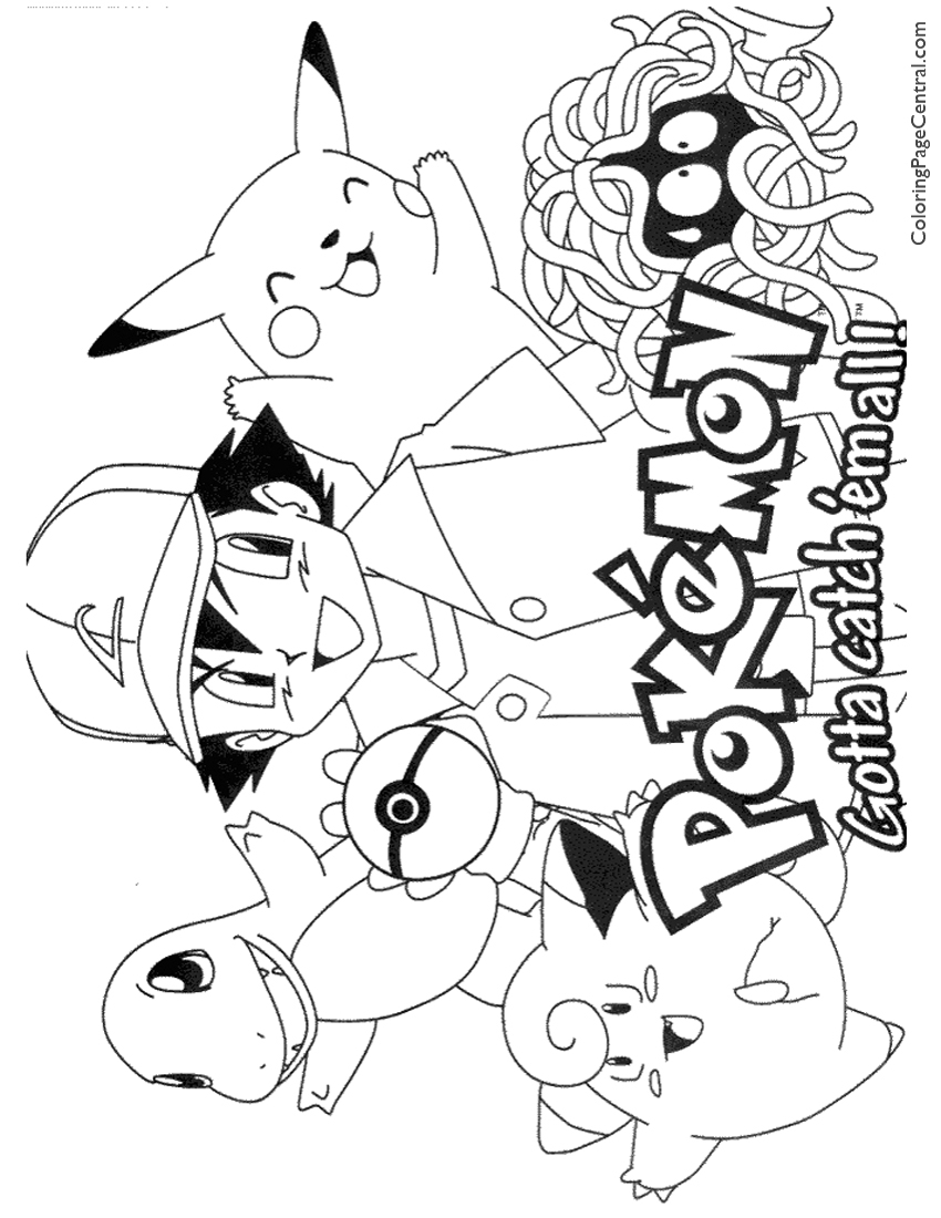 pokemon coloring pages - pokemon mew coloring pages images