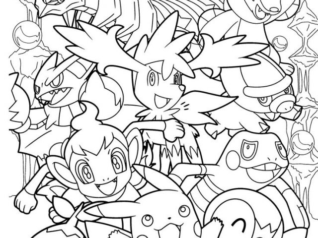 pokémon coloring pages - pokemon starters coloring pages printable