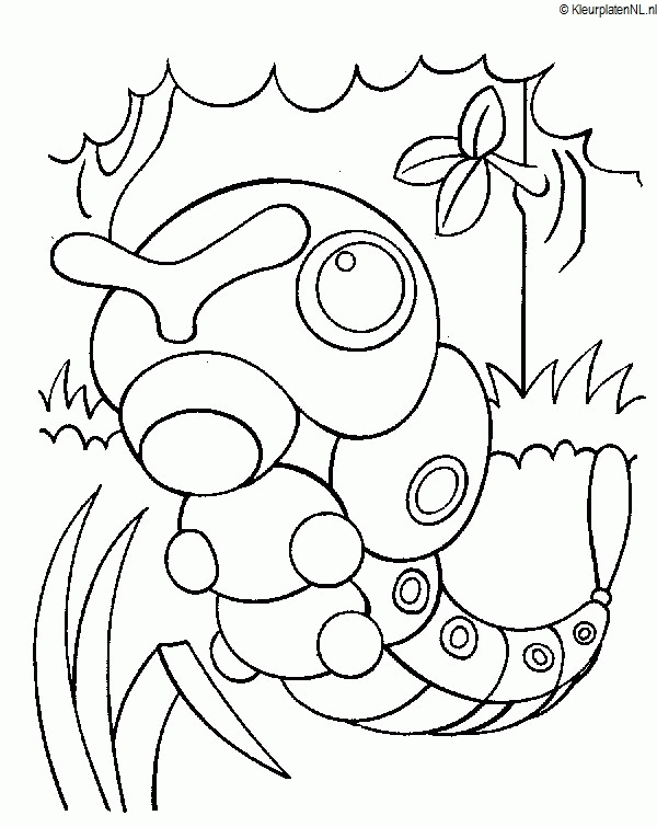 pokemon coloring pages sun and moon - pokemon kleurplaat kleurplaten 3767