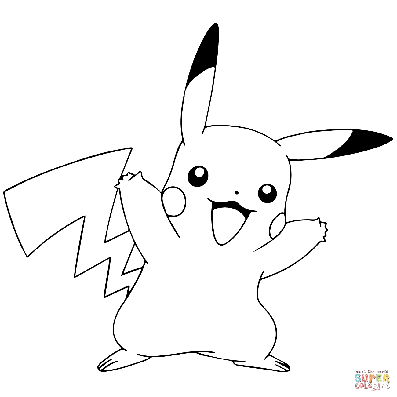 pokemon go coloring pages - pokemon go pikachu celebrating