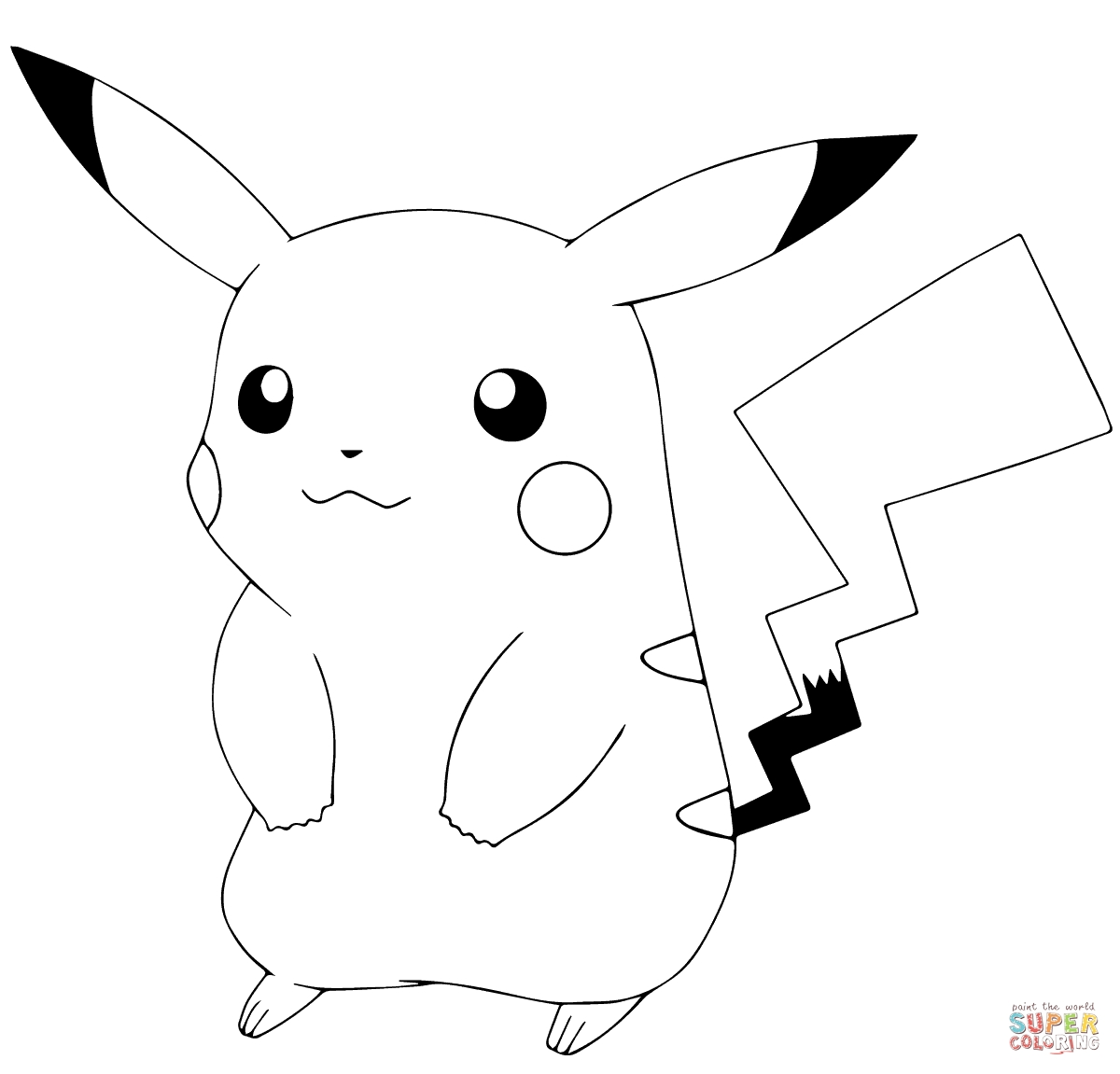 pokemon go coloring pages - pokemon go pikachu
