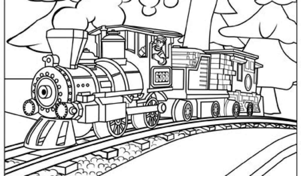 polar express train coloring pages - photo#12