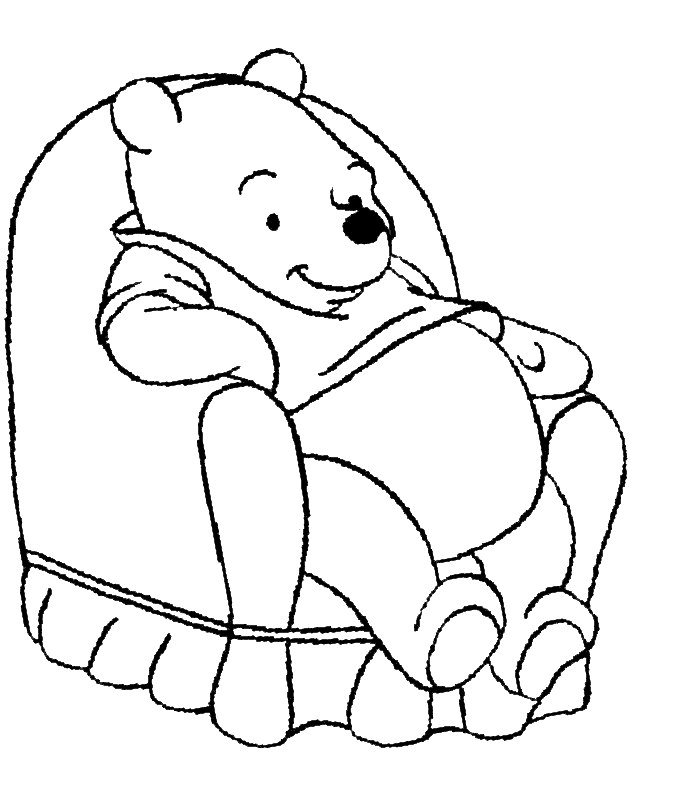 pooh bear coloring pages - winnie pooh coloring pages