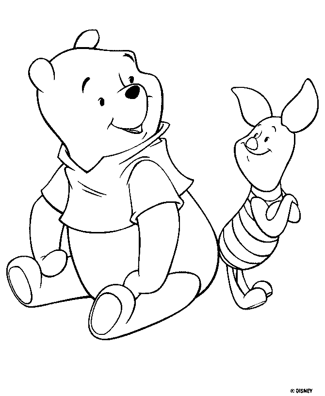 pooh coloring pages - winnie pooh coloring pages free pooh