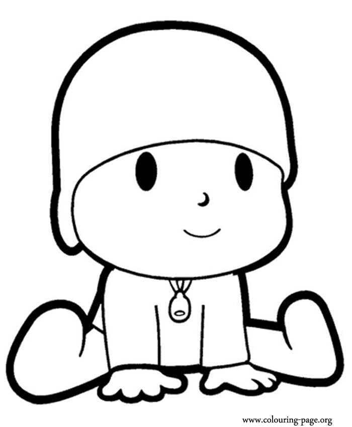 popsicle coloring page - pocoyo coloring pages