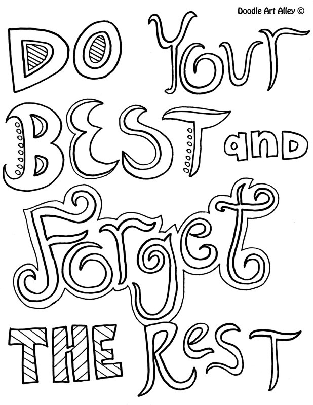 23 Positive Coloring Pages Compilation