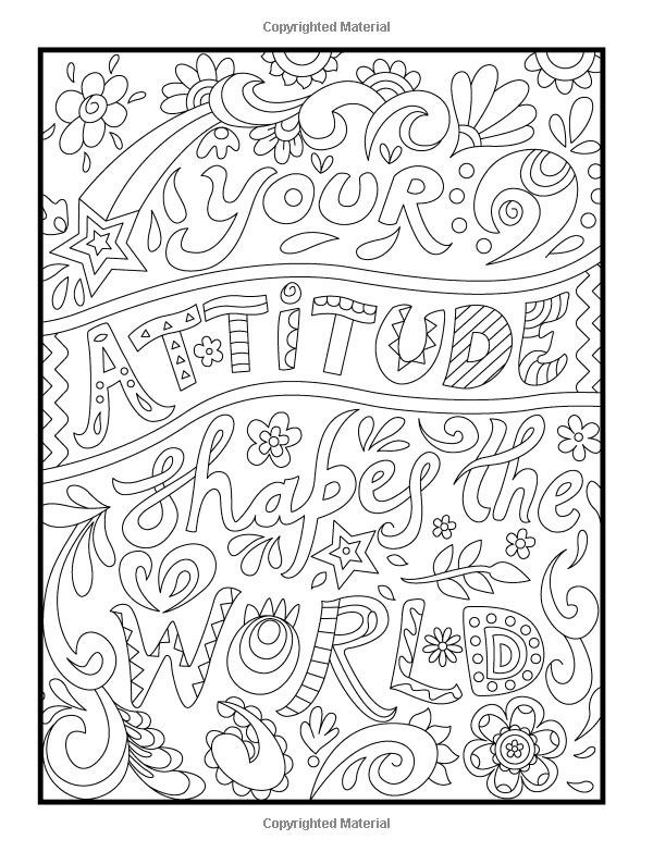 positive coloring pages - positive words coloring sheets sketch templates